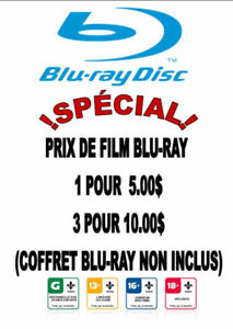 FILMS BLUE RAY