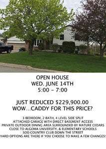 OPEN HOUSE....WOW REDUCED AGAIN!