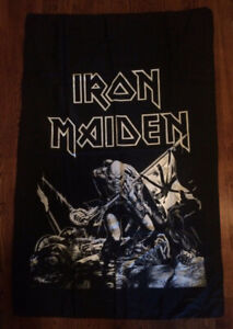 Full Size 1983 IRON MAIDEN - The Trooper Flag