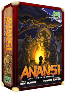 NEW in Shrink Anansi and the Box of Stories Card Game