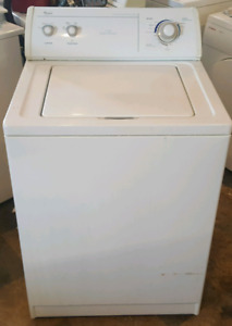 Whirlpool extra capacity washer works great