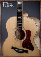 Guitare Pellerin custom vintage SJ salvaged Sitka/maple