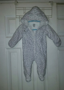 Fleece suit 3 months