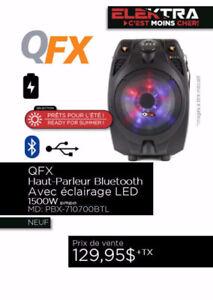 NEUF......HAUT PARLEUR QFX....( BLUETOOTH ) ....$129.95