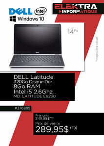 376885....ORDINATEUR PORTABLE DELL LATITUDE ...$289.95