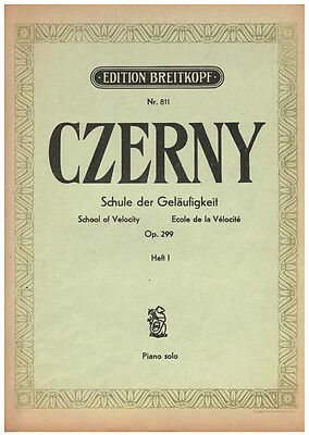 CZERNY  -  Edition Breitkopf Nr. 812 Heft 2