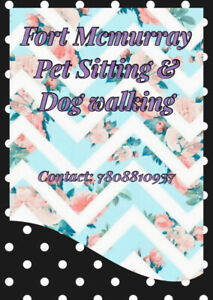 Fort Mcmurray pet sitting