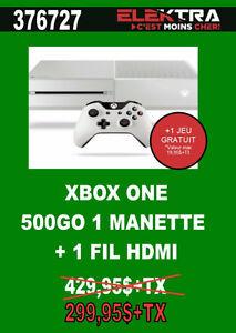 376727....CONSOLE XBOX ONE ... ( 500 GO ) ....$299.95