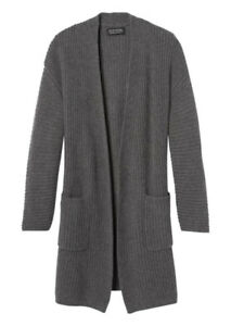 Brand New TODD & DUNCAN 100% Cashmere Coat Duster Cardigan XXS