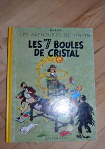 Album bd Facsimilé Les sept boules de crystal en très bon état