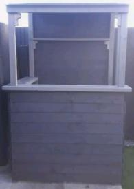 Garden Bar Timber Shed Compact