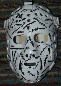 masque Gerry Cheevers réplique replica fiberglass goalie mask