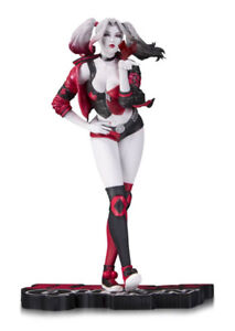 Harley Quinn Red White & Black By Stanley Lau Statue in store!