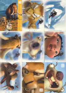 2002 ICE AGE 72 CARD SET W/WRAPPER
