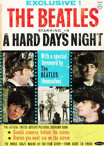 The Beatles A Hard Day's Night book - 32 pages