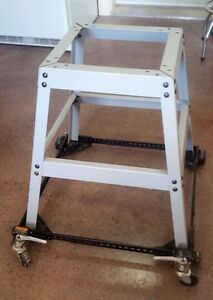 Power tool stand on casters
