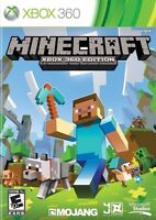 MINECRAFT XBOX 360 NEW NEVER OPENED