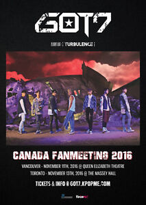 GOT7 TORONTO FAN-MEETING VIP TICKET (WITH HI-TOUCH) London Ontario image 1