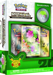 Pokemon Mythical Collection- Shaymin Box with Pin
