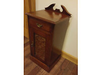 Antique Mahogany Pot Cupboard