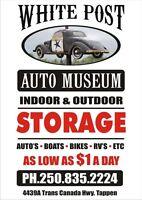 Winter Vehicle Storage: Indoor & Outdoor