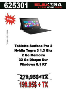 TABLETTE SURFACE PRO 2 / WINDOW 8.1