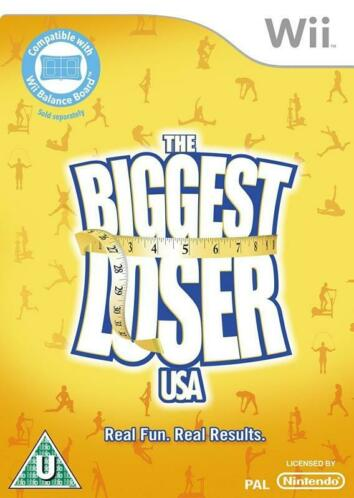 The Biggest Loser USA (Wii tweedehands game)