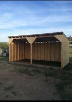 Horse/cow shelters
