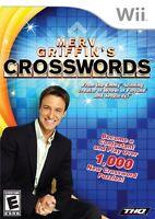 Merv Griffin's Crosswords Wii