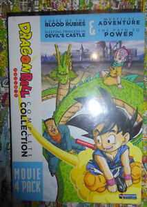 NEW Dragon Ball: Complete Collection Movie 4 Pack Kitchener / Waterloo Kitchener Area image 1