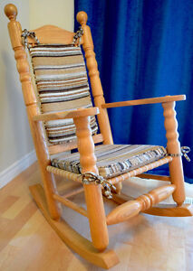 Oak Rocking Chair made in Quebec