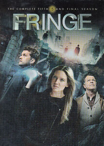 Fringe The Complete Fifth and Final Season DVD 2013 4-Disc Set
