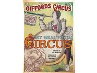Giffords Circus at Blenheim Palace - Family Tickets