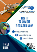 FREE TRIAL ADULT TENNIS LESSONS IN COLE HARBOUR/PORTLAND ESTATES
