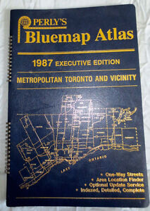 Pearly's Toronto Executive Street Map Book 1987