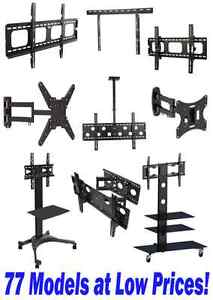 Every type of TV mounts, brackets & stands at the right price!