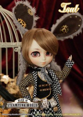 Isul White Rabbit in Steampunk World Alice in Wonderland Pullip Fashion Doll US
