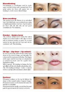 Microblading -permanent Make Up