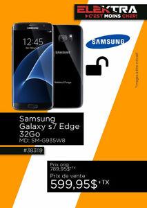 383119....TÉLÉPHONE CELLULAIRE ( GALAXIE S7 ) ...$599.95