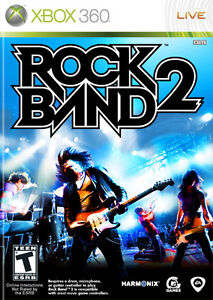 Rock Band 2 and Rock Band 1 for XBOX 360