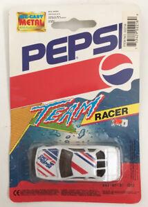 Vintage-Diet-Pepsi-Toy-Race-Car-Team-Racer-Wheels-Die-Cast