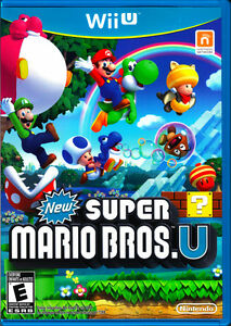 NEW SUPER MARIO BROS U DISCONTINUED WII U NINTENDO