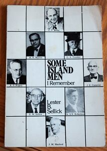 Some Island Men I Remember By Lester B. Sellick