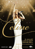 Celine Dion Bell Center August 13th 8pm