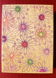 Rubber Stamp by Hero Arts called Petals and Pinwheels