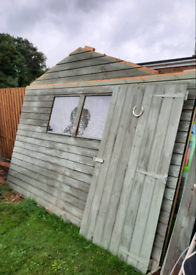 Large 8x12 ft Shed SOLD STC