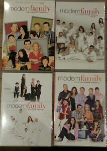 Modern Family Seasons 1, 2 & 4 DVDs