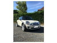 56 Mini Cooper 1.6, Full Black leather with cream piping, 12 months MOT