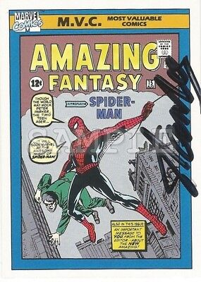Stan Lee signed 5x7 Autograph Photo RP - Free ShipN! Marvel / Spider-man
