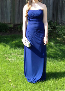 Beautiful Royal Blue Full Length Gown
